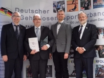 Verleihung der DGS Sports Trophy 2018  /  Bester Trainer 2018 - Ron Snyder