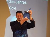 Verleihung der DGS Sports Trophy 2018  /  Bester Sportler 2018 - Simon Wildenhayn