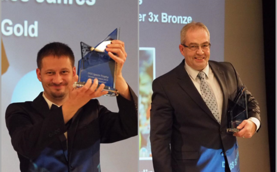 Verleihung der DGS Sports Trophy 2018