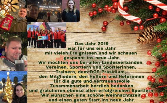 Frohe Weihnachten und ….